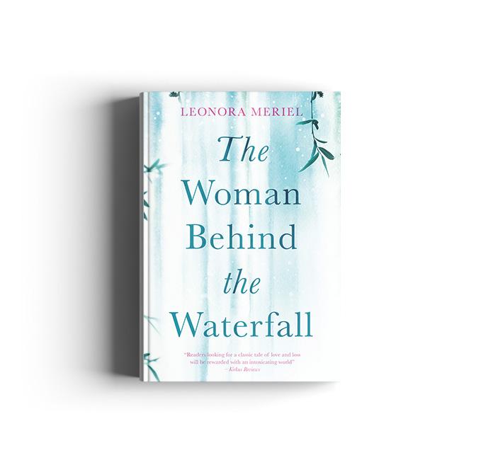 woman behid the waterfall3